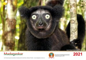 Wandkalender 2021 Deutsch Madagassischer Schulverein - Spenden für Kinder in Madagaskar